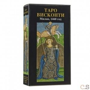 visconti tarot / мини таро висконти,