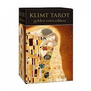 golden tarot of klimt / мини таро климта,